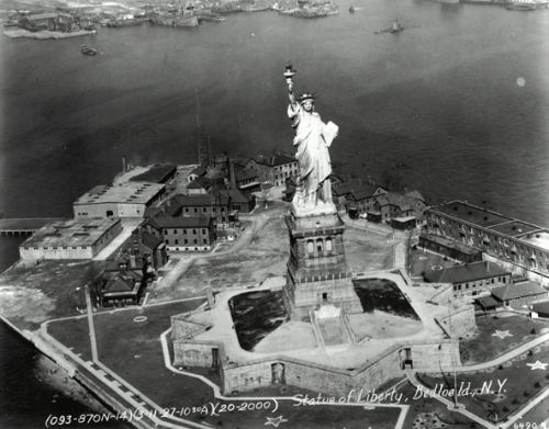 Statue of Liberty, 1927.