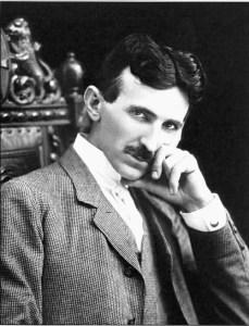 Nikola Tesla, Age 40.