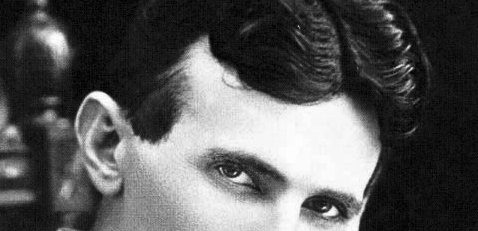 Nikola Tesla, At 40.
