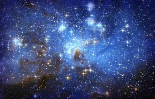 Night Sky, Photo: European Space Agency (ESA/Hubble).