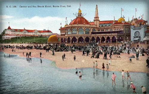 Santa Cruz: Casino, 1907.