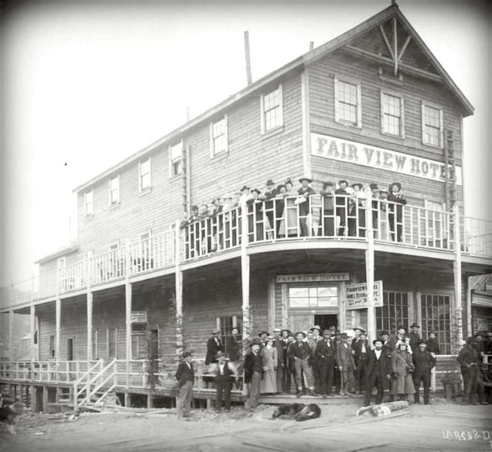 The Fairview Hotel, Dawson City.