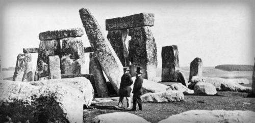 Stonehenge, Victorian Era 1800s.