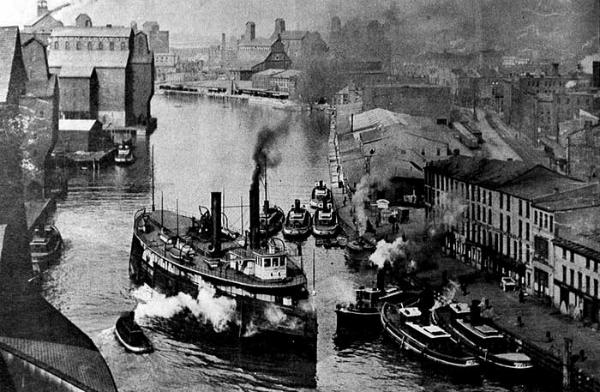 New York Harbor, 1890.