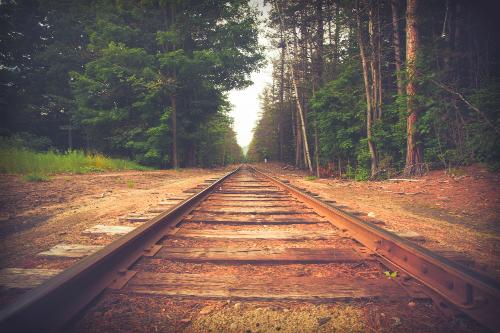 Vintage Train Track.
