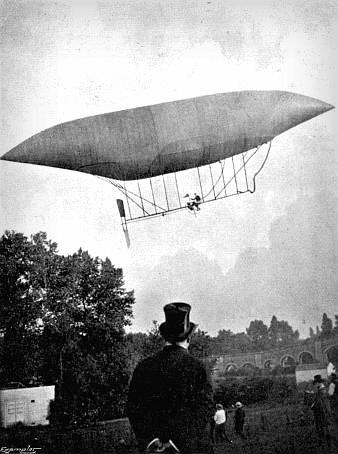 Flight No. 4, Professor Langley. Santos-Dumont.oto: My Airships by Alberto Santos-Dumont.