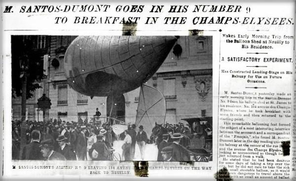 Santos-Dumont, NY Herald, June 24, 1903.