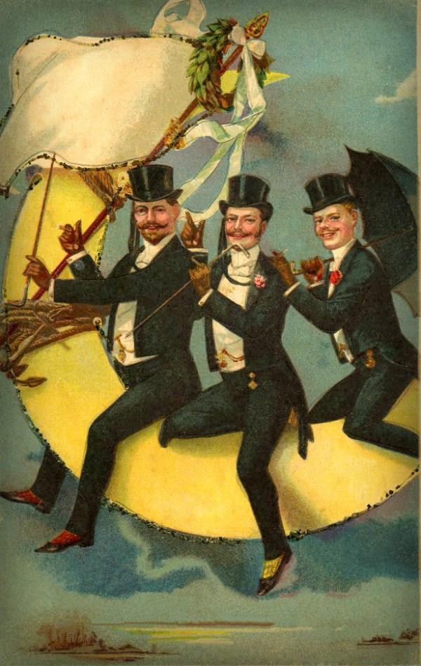 Men On The Moon, 1890s.