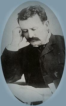 Brisben Walker, Publisher Cosmopolitan Magazine, 1890. Image: Wikipedia.