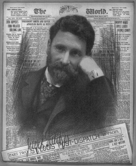 Joseph Pulitzer, 1904. Image: Wikipedia.