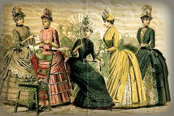 Victorian Era Gowns.