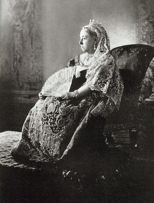 Queen Victoria Photographed For Diamond jubilee, 1897/W. and D. Downey/National Archives of Canada.