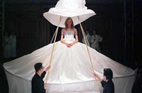 Yohji Yamamonto Original Wedding Dress.