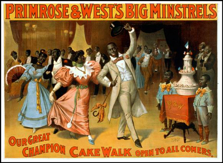 Primrose & West's Big Minstrels Cakewalk, 1896. Image: Library of Congress.