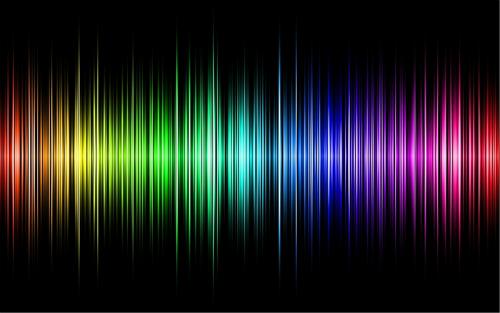 Rainbow Spectrum Of A Star. Image: davidreneke.com