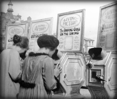 Mutoscopes Seaside, 1912.