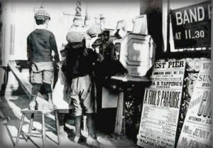What The Butler Saw Machine, West Pier Arcade.