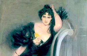Gertrude Elizabeth Blood, 1897 by Giovanni Boldini.