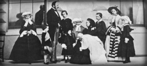 Queen Victoria, Prince Albert and Their Nine Children, 1857. Wikimedia Commons.