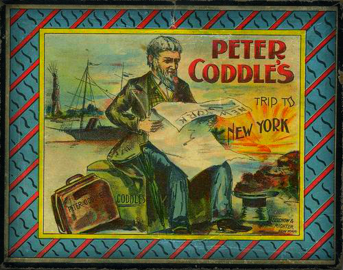 Peter Coddle's Trip To New York Game, circa 1890.