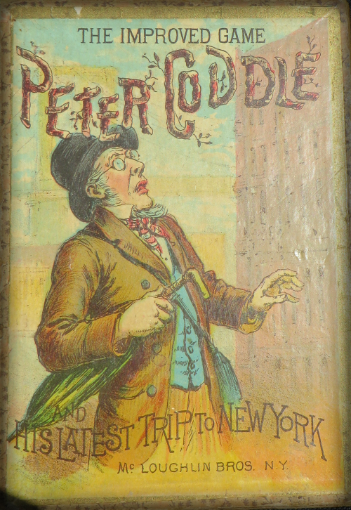 Peter Coddle And His Latest Trip To New York, 1890.