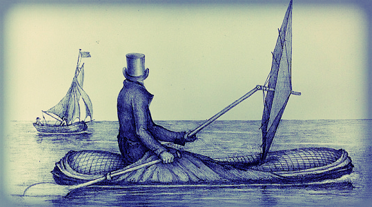 Peter Halkett Boat Cloak, 1848. National Maritime Museum.