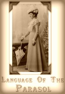 The Language Of The Parasol: A Step Back In Time Website.
