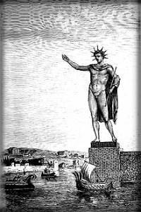 Colosse de Rhodes (Barclay), God of the Sun.