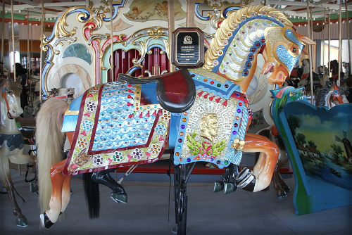 Carousel Horse. Image: Peter Greenberg.