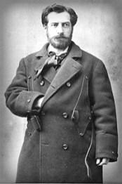Frederic Auguste Bartholdi, 1880. Image: Wikipedia.