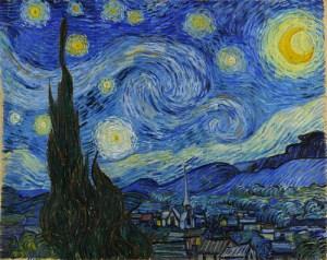 Van Gogh-Starry Night, 1889. Image: Wikimedia.