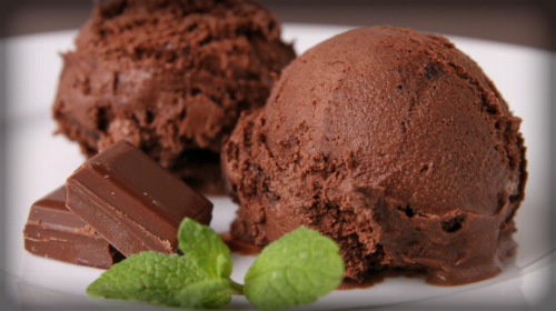 Chocolate Ice Cream.