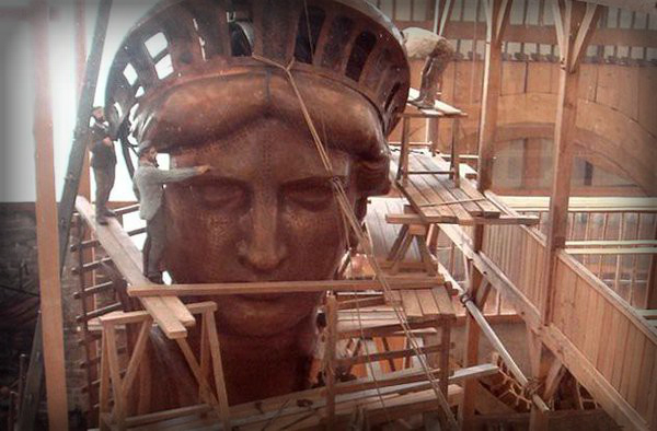 Statue of Liberty, Copper Finish.