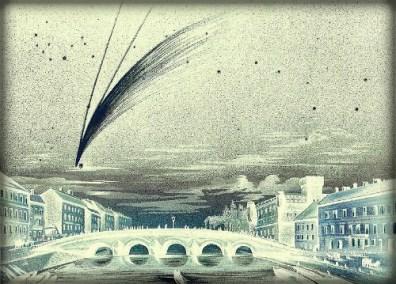 Great Comet Donati, 1858. Image: E. Weib.