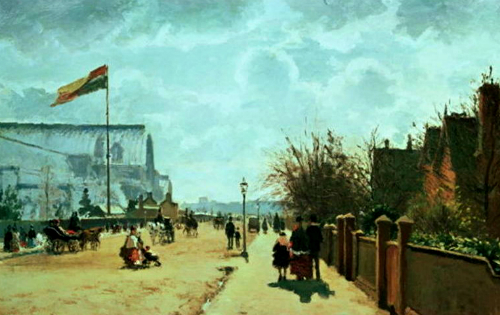 Camille Pissarro, The Crystal Palace, 1871.