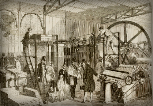 Great Exhibition 1851: Illustrated Exhibitor's Guide. Image: British Library.uk.