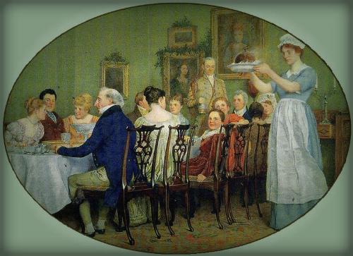 Charles Green, Victorian Feast.