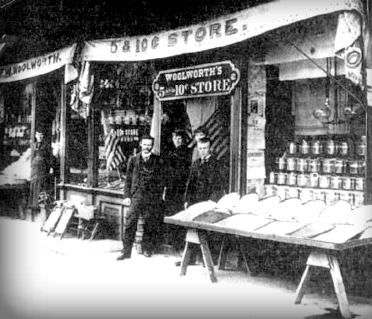 F.W. Woolworth's Store, Lancaster, Pennsylvania.