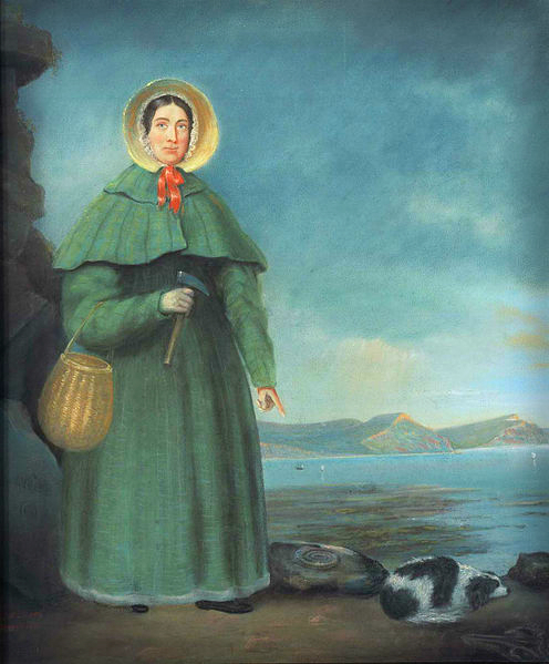 Mary Anning, by B. J. Donne, 1847.