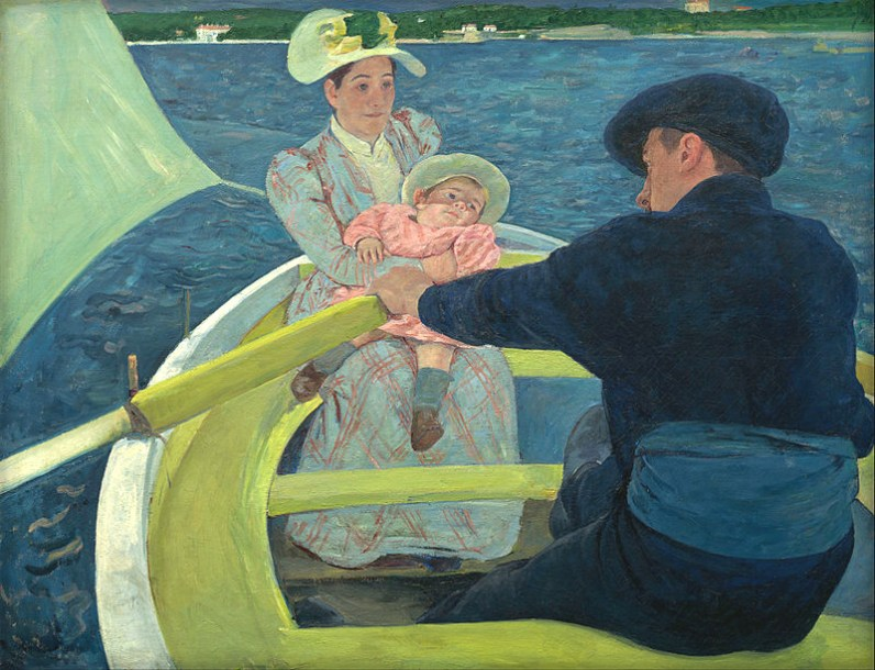 Mary Cassatt: The Boating Party, 1893-4. Image: Wikipedia.