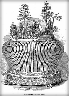 King Cake, Queen Victoria, 1849.