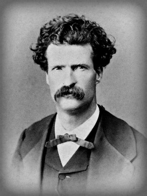 Mark Twain by Abdullah Frères, 1867. Image: Wikipedia.