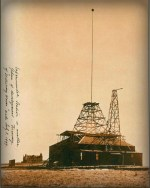 Nikola Tesla Papers, Colorado Springs Laboratory, 1899. Image: Wikipedia.