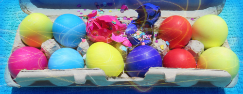 Cascarones Confetti Eggs. Image: B. Rose Media.