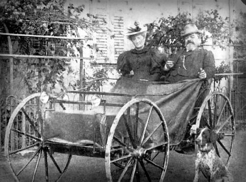 Victorian Era Electric Cars, Andreas Flocken, 1895. Image: Wikipedia.