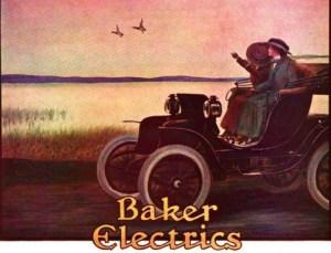 Victorian Era Electric Cars; Baker Electric Ad, 1911. Image: Wikipedia.