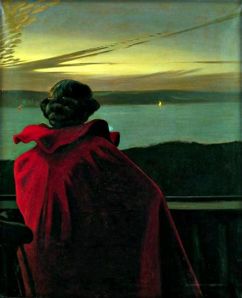 Harald Slott-Moller: Midsummer Near Fiord, 1904. Image: Wikipedia.