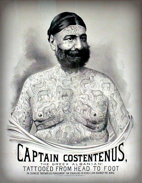 Captain Costentenus. Image: Circus World Museum; Wikipedia.