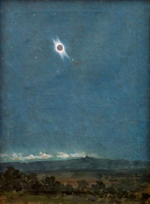 Solar Eclipse, Enrique Simonet, 1905. Image: Wikipedia.