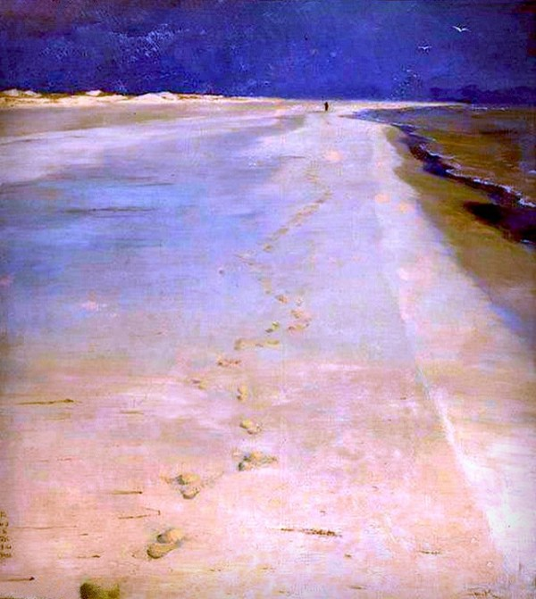 Peder Severin Kroyer: On South Beach Skagen.